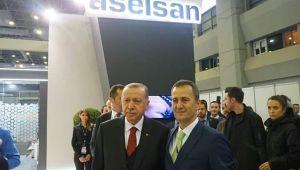 Cumhurbaşkanı Erdoğan ASELSAN standını gezdi