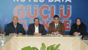 Ak Parti Dilovası Aday Adayları İle Toplandı