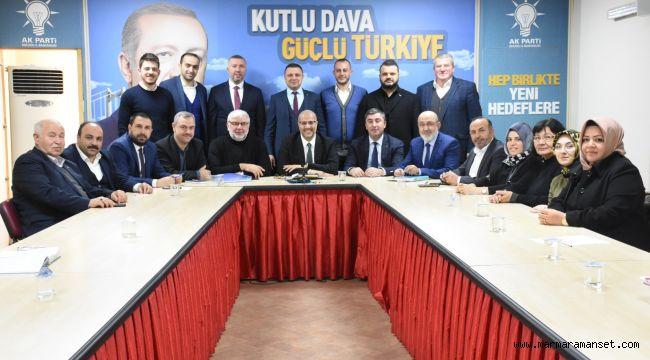 AK Parti SKM'de görev dağılımı yapıldı