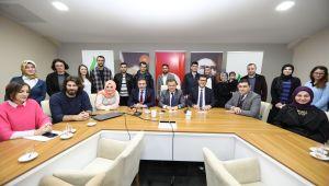 Başkan Demirci, Yeni Öğretmenlerle Buluştu