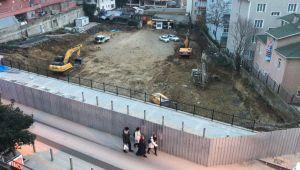 Gebze'de 7 katlı otoparkın ilk kazması vuruldu
