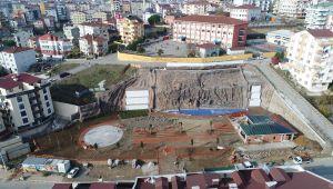 Şelale Park Semt Meydanı ve Sosyal Tesisleri Büyük Oranda Tamamlandı