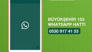 Büyükşehir, ''WhatsApp'ta da varım'' dedi