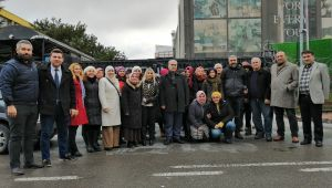 İyi Parti Çayırova Flomar İşçilerini Ziyaretti