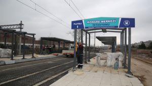 Sekapark- Plajyolu tramvay hattı 1. etabında sona doğru