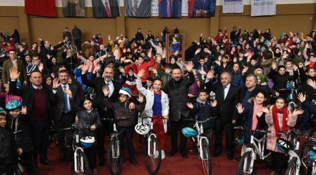 Kocaeli'de 635 öğrenci bisikletlerine kavuştu