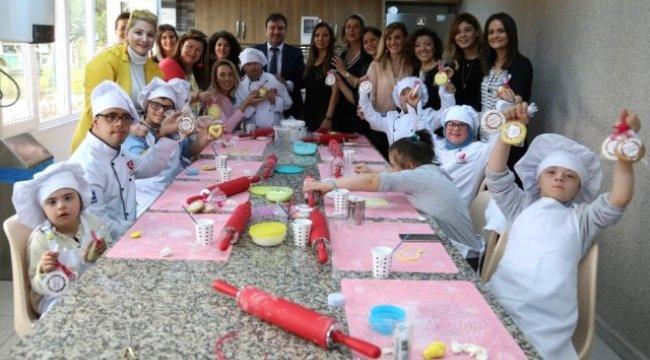 Kocaelili Anneler, Özel Çocuklarla Birlikte Kurabiye Yaptı