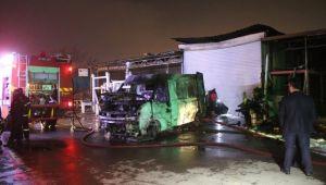 Sanayi sitesinde yangın: 1 ölü, 2 yaralı