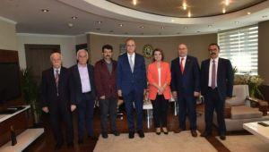 Başkan Hürriyet'e Hayırlı Olsun Ziyaretleri Devam Ediyor