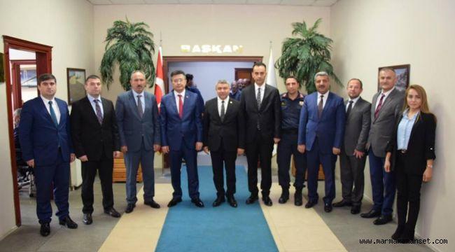 Başkan Şayir'e Tebrik Ziyaretleri Devam Ediyor
