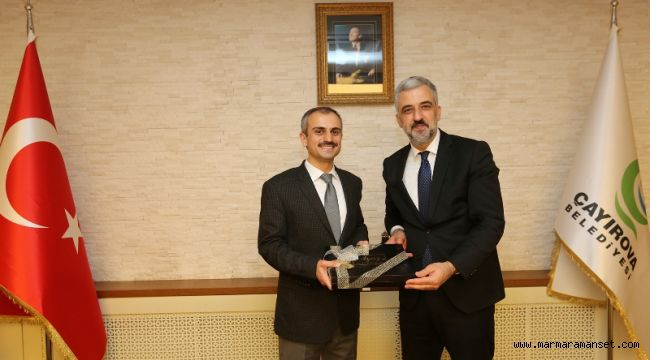 Eryarsoy, Başkan Çiftçi'yi Ziyaret Etti