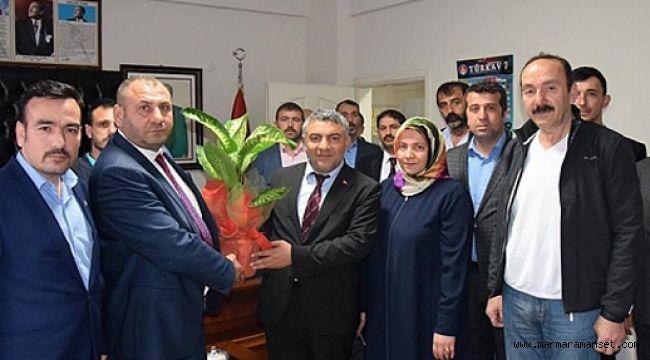 Şayir, MHP'yi ziyaret etti