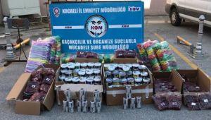 154 Kilo Kaçak Nargile Tütünü Yakalandı