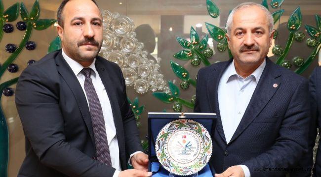 Başkan Büyükgöz'e Şampiyona Daveti