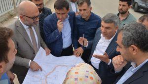 Başkan Şayir, Çalışmaları Yerinde İnceledi