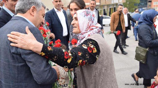 Başkan Şayir'den Anneler Günü Mesajı