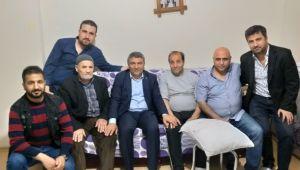 Başkan Şayir, ziyaretlerini sürdürüyor