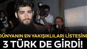 Dünyanın en yakışıklı isimlerin (Üç Türk Listede)