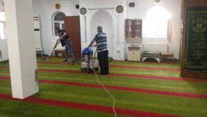 Gebze'de ibadethaneler bayrama hazırlanıyor