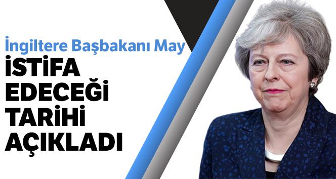 İngiltere Başbakanı Theresa May 7 Haziran'da istifa edecek
