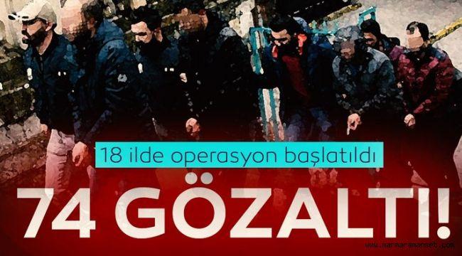 Son dakika: FETÖ'nün bilişim yapılanmasına operasyon: 74 gözaltı