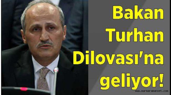 Bakan Turhan Dilovası'na geliyor!