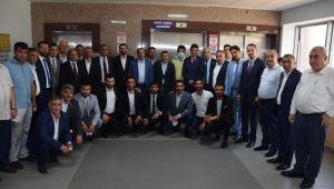 Başkan Şayir'den Bayramda Hasta Ziyareti