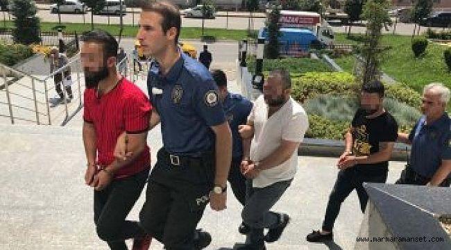 Bayan polislere laf atanlar serbest bırakıldı