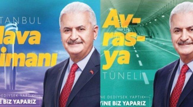 Binali Yıldırım'ın seçim sloganı belirlendi