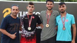 Darıca'lı Atletlerden Dört Madalya
