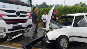 Feci kaza: 3'ü çocuk 7 yaralı