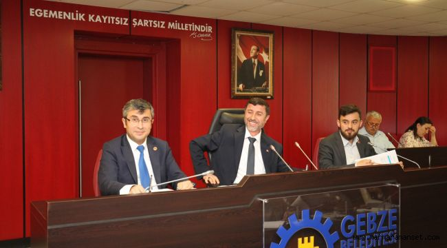 Gebze'de Haziran Meclisi yapıldı