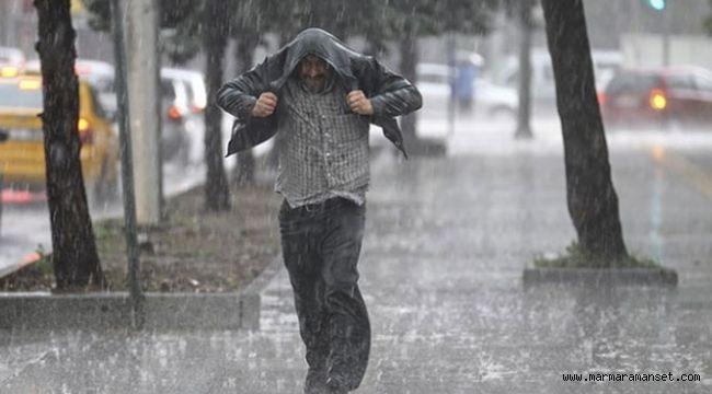 Kocaeli ve İstanbul'u Sağanak yağış vurdu!