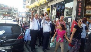 MHP Gebze, İstanbul'a çıkarma yaptı