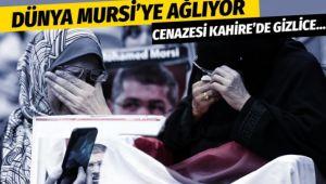 Müslümanların Muhammed Mursi gözyaşları