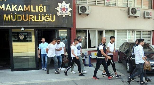 Vurguncu çete üyeleri tutuklandı!