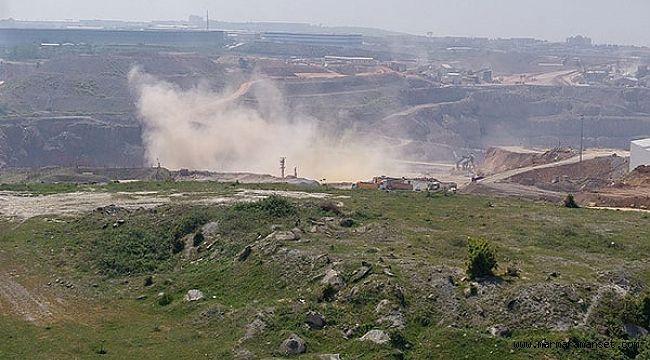 Gebze'deki taşocağı vatandaşı canından bezdirdi!