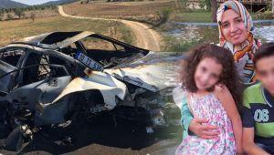 Hilal öğretmen feci kazada hayatını kaybetti