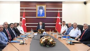 İl Güvenlik ve Asayiş Koordinasyon toplantısı gerçekleşti