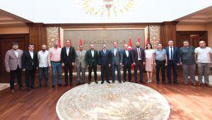 Kocaelispor'dan Vali Aksoy'a Ziyaret!
