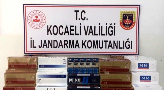 Takside kaçak sigara transferine operasyon: 2 gözaltı