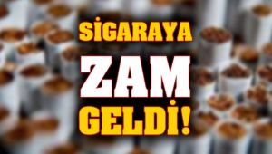 Bu kez sigaraya zam geldi!
