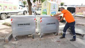 Çöp konteynerleri yenileniyor