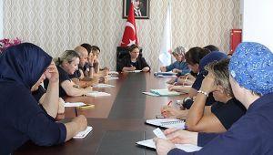 Farabi'de değerlendirme öncesi toplantı