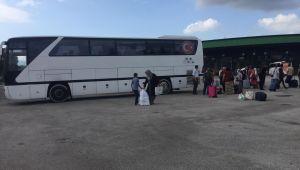 Terminal Müdürlüğü, olası can kaybını önledi