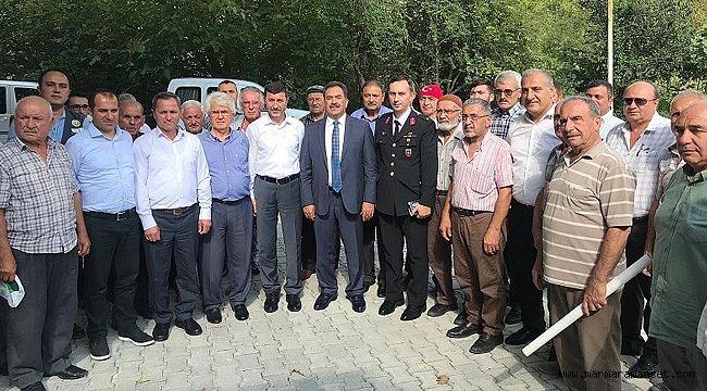 Yağcılar'da halk ve güvenlik toplantısı