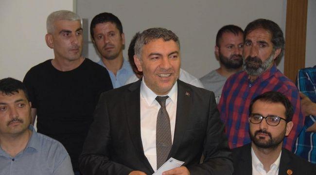 AK Partili Dilovası Belediye Başkanı Hamza Şayir Makam Aracını Sattı