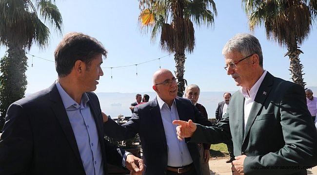 Başkan Ellibeş, ilçe başkanlarıyla buluştu