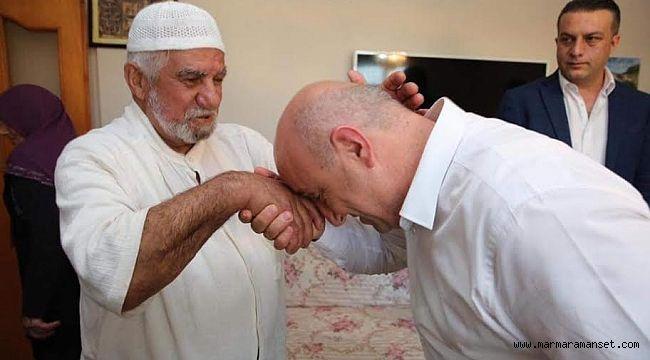 Bıyık'tan 'Allah kabul etsin' ziyareti