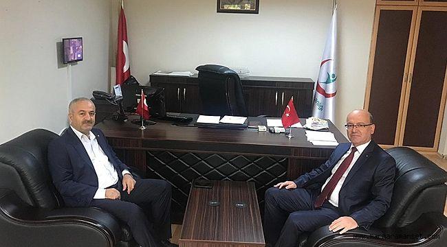 Büyükgöz, Kadıoğlu'na 'Hayırlı olsun' ziyareti